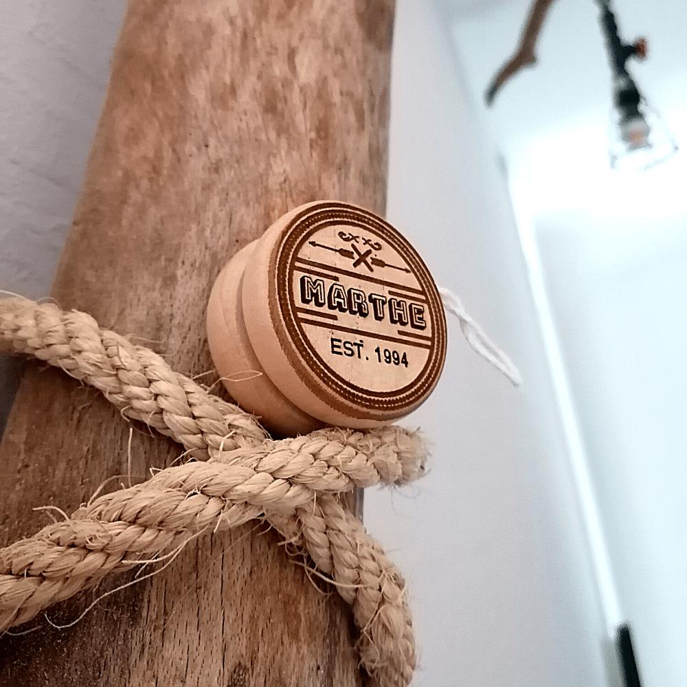 Leuk logo op een jojo (online kopen, binnen 1-2 dagen in huis)